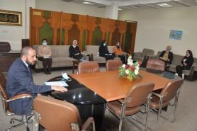 Al-Ghabban chair a meeting
