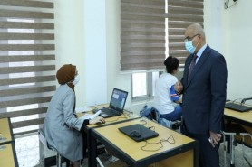 The Minister of Higher Education and scientific research inspects the