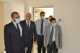 --Al-Ghabban inspects the guest house, the Little Technology Kindergarten,