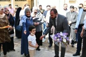 Prof. Dr. Al-Ghaban Inaugurates U.O.T Kindergarten and Nursery